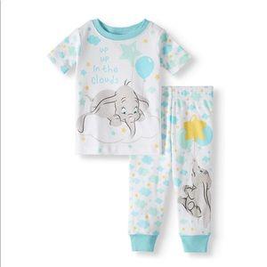 SALE 4/$30 NWT Disney Pajamas Dumbo 2 piece set